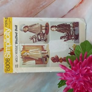 Vintage Holly Hobby Doll Pattern Uncut